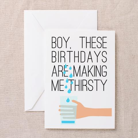 Seinfeld Birthday Card These Birthdays Are Making Me Thirsty