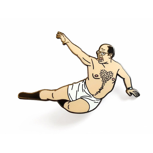 Seinfeld Gifts - The Timeless Art of Seduction Lapel Pin