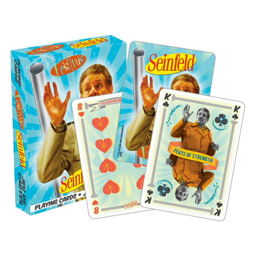 Seinfeld Gifts - Seinfeld Festivus Playing Cards