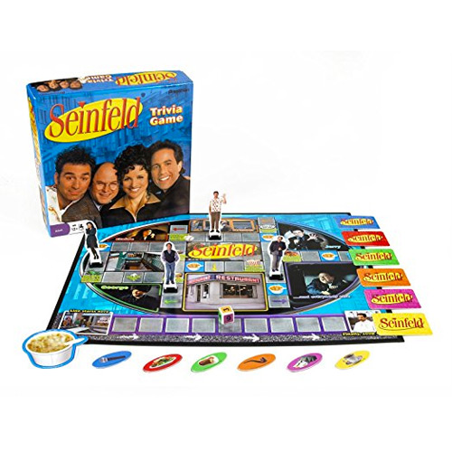 Seinfeld Gifts - Seinfeld Trivia Board Game