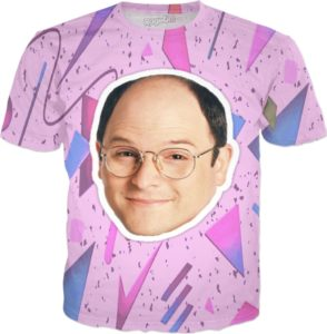 George Costanza Seinfeld 90s T-Shirt